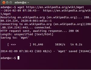 Linux Wget 命令用法