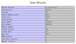 Zend Opcache在PHP5.4、PHP5.5下的安装